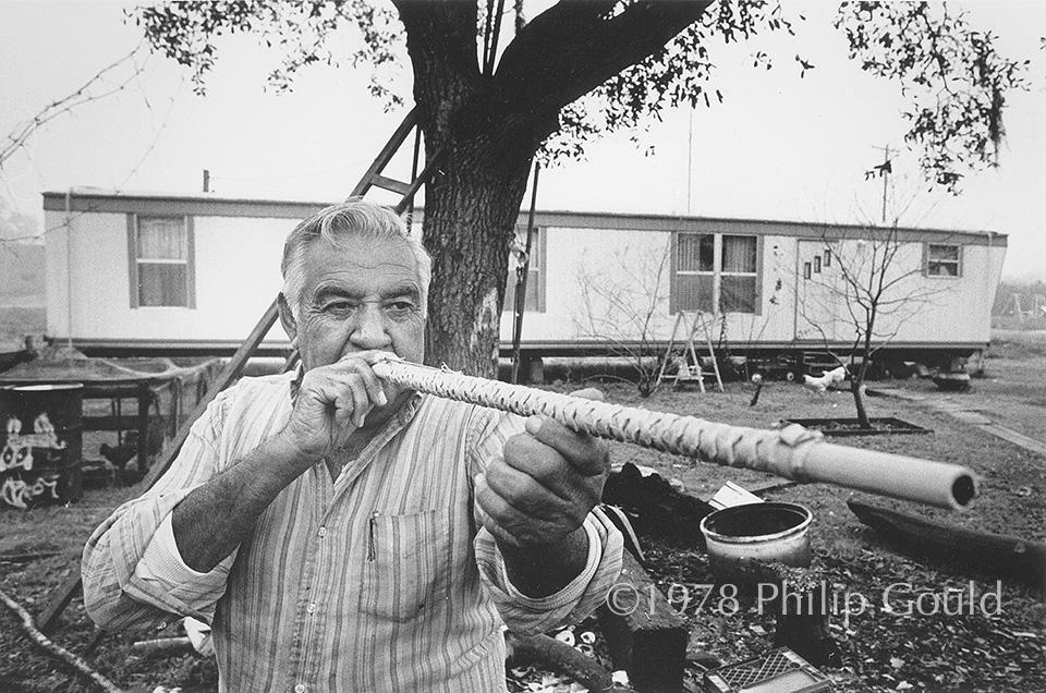 Houma Indians, Native Americans, Louisiana, blow pipes